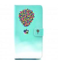 Husa de protectie tip carte pentru Samsung Galaxy S5,  Balloon