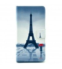 Husa de protectie tip carte pentru Samsung Galaxy S5, Paris