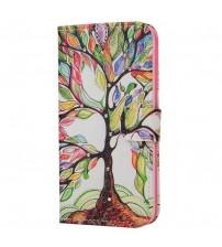Husa de protectie tip carte pentru Samsung Galaxy S6,  Tree