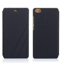 Husa de protectie tip carte pentru Xiaomi Note,  Black gold