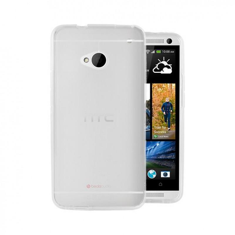 Husa HTC One M7 transparenta, Huse HTC - TemperedGlass.ro