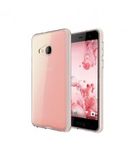 Husa HTC U Play Slim TPU, Transparenta