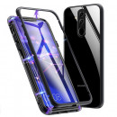 Husa Huawei Mate 20 Lite 360 Magnetic, Clear-Black