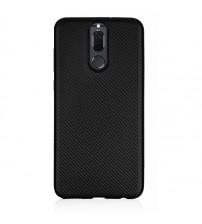 Husa Huawei Mate 10 Lite Gel TPU Fiber, Black