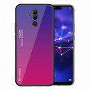 Husa Huawei Mate 20 Lite Gradient Glass, Blue-Purple