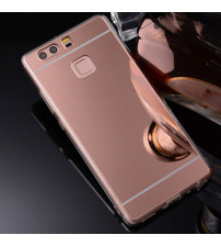 Husa Huawei P10 Lite Oglinda Luxury, Rose Gold