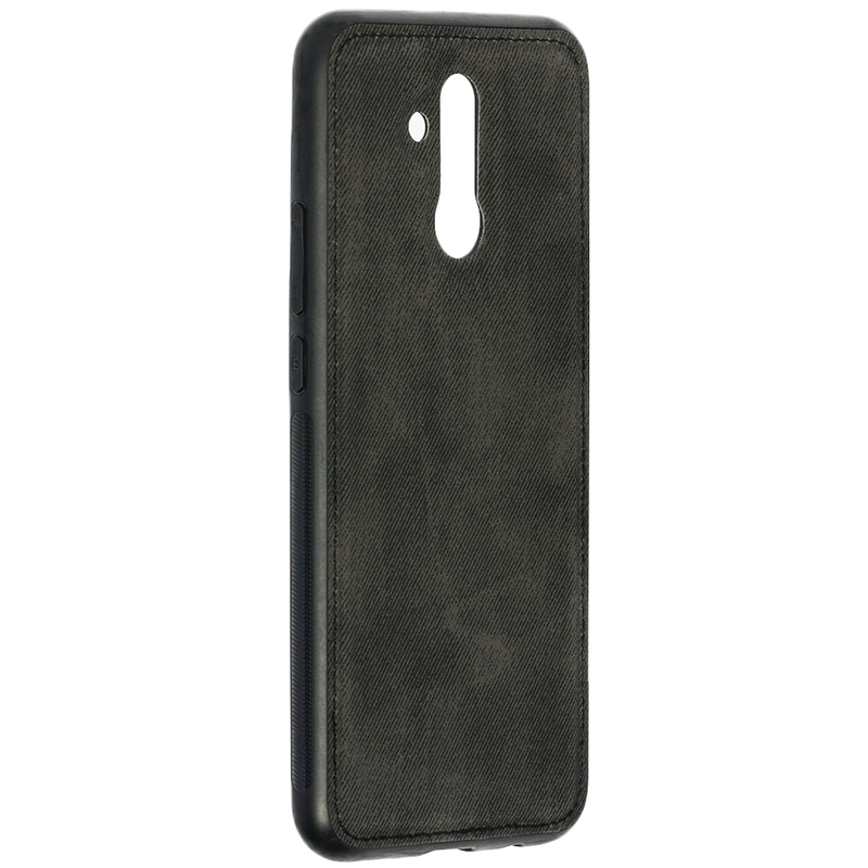 Husa Huawei Mate 20 Lite Denim Magnet TPU, Black - TemperedGlass.ro