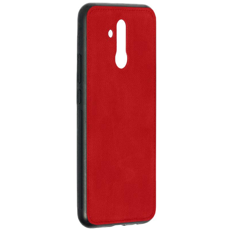 Husa Huawei Mate 20 Lite Denim Magnet TPU, Red - TemperedGlass.ro
