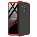 Husa Huawei Mate 20 Lite GKK Full Cover 360, Black-Red