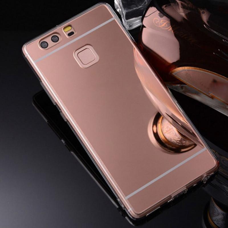 Husa Huawei P30 Oglinda Luxury, Rose Gold