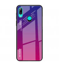 Husa Huawei P Smart 2019 Gradient Glass, Blue-Purple