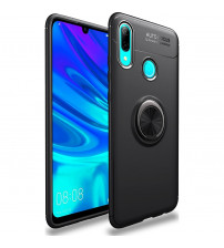 Husa Huawei Y6 2019 Magnet Round Ring, Black