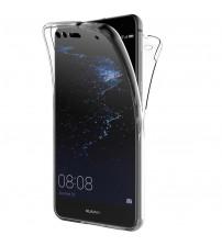 Husa Huawei P10 Lite TPU Full Cover 360 (fata+spate), Transparenta