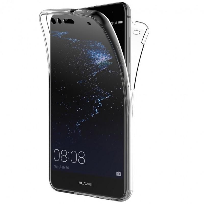 Husa Huawei P10 Lite TPU Full Cover 360 (fata spate), Transparenta