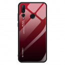 Husa Huawei P10 Gradient Glass, Red-Black