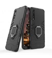 Husa Huawei P20 Pro Magnet Slim Ring, Black