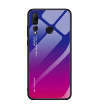 Husa Huawei P20 Pro Gradient Glass, Blue-Purple