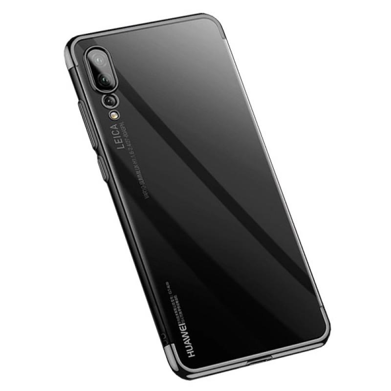 Husa Huawei P20 Pro TPU Elegance, Black - TemperedGlass.ro