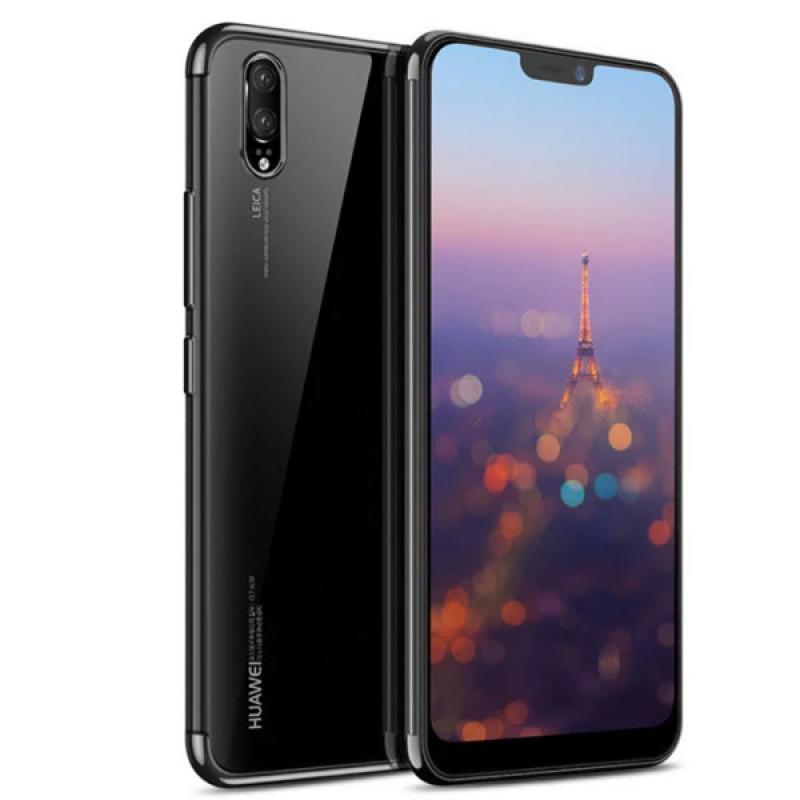 Husa Huawei P20 TPU Elegance, Black - TemperedGlass.ro