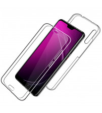 Husa Huawei P20 TPU Full Cover 360 (fata+spate), Transparenta