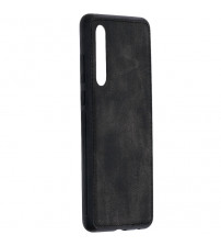 Husa Huawei P30 Denim Magnet TPU, Black
