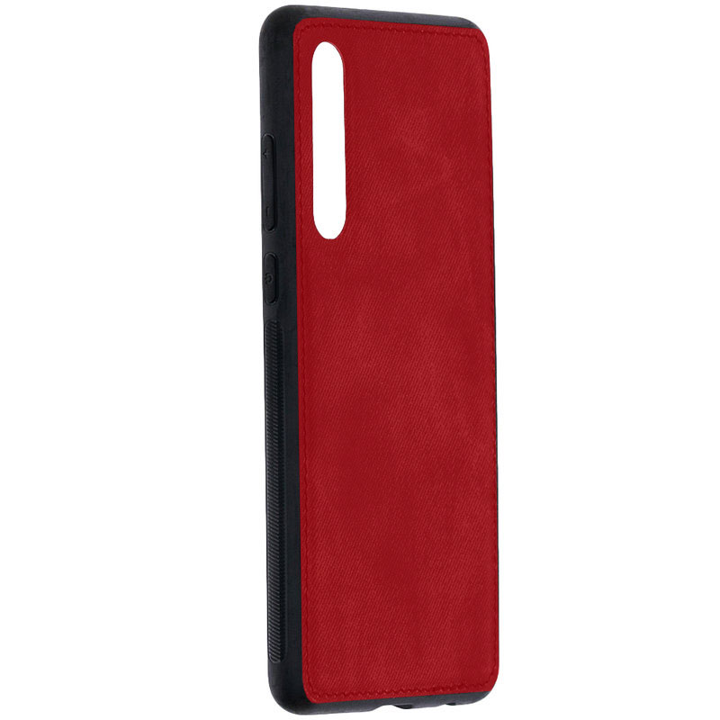 Husa Huawei P30 Denim Magnet TPU, Red - TemperedGlass.ro