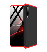 Husa Huawei P30 GKK Full Cover 360, Black-Red