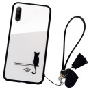 Husa Huawei P30 Glass Back, Cat