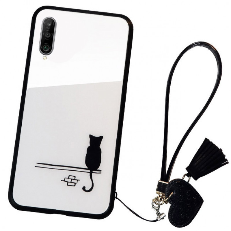 Husa Huawei P30 Glass Back, Cat - TemperedGlass.ro