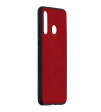 Husa Huawei P30 Lite Denim Magnet TPU, Red