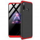 Husa Huawei P30 Lite GKK Full Cover 360, Black-Red