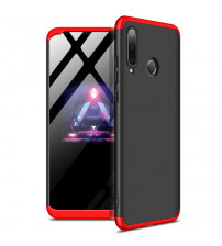 Husa Huawei P30 Lite GKK Full Cover 360, Black-Red