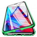 Husa Huawei P30 Lite Magnetic 360 (fata+spate sticla), Green
