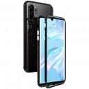 Husa Huawei P30 Pro 360 Magnetic, Clear-Black