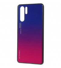 Husa Huawei P30 Pro Gradient Glass, Blue-Purple
