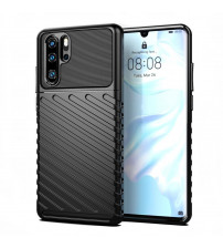 Husa Huawei P30 Pro Thunder Rugged TPU, Black