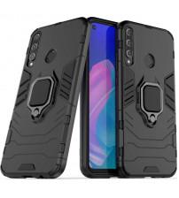 Husa Huawei P40 Lite E Magnet Slim Ring, Black