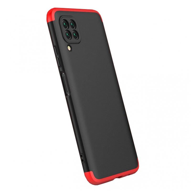 Husa Huawei P40 Lite GKK Full Cover 360, Black-Red - TemperedGlass.ro