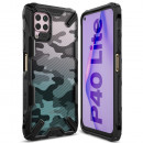 Husa Huawei P40 Lite originala RINGKE Fusion X Camo, Black