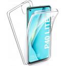 Husa Huawei P40 Lite TPU Full Cover 360 (fata+spate), Transparenta
