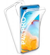 Husa Huawei P40 Pro TPU Full Cover 360 (fata+spate), Transparenta