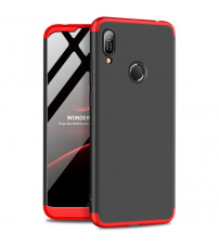 Husa Huawei Y6 2019 GKK Full Cover 360, Black-Red