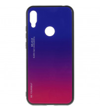 Husa Huawei Y6 2019 Gradient Glass, Blue-Purple