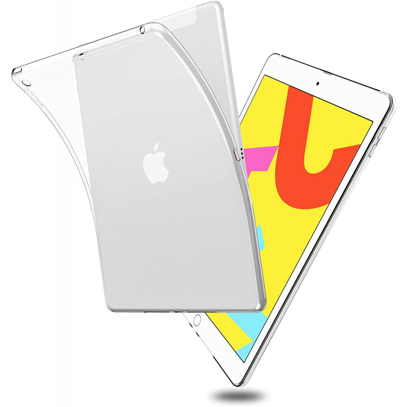 Husa iPad 10.2 (2019) transparenta, Huse iPad - TemperedGlass.ro