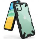 Husa iPhone 11 originala RINGKE Fusion X, Black