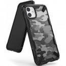 Husa iPhone 11 originala RINGKE Fusion X Camo, Black