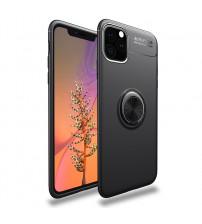 Husa iPhone 11 Pro Magnet Round Ring, Black