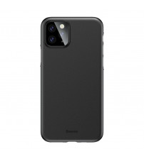 Husa iPhone 11 Pro Max Baseus Wing Ultra Thin, Black