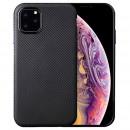 Husa iPhone 11 Pro Max Gel TPU Fiber, Black