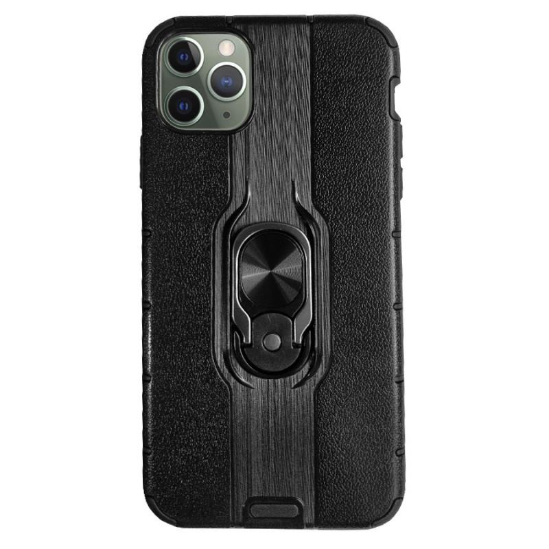 Husa iPhone 11 Pro Max Magnet Slim Ring, Black - TemperedGlass.ro